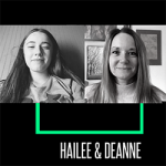 Little Sister Hailee & Big Sister Deanne connect virtually for their match meeting