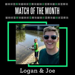 Little Brother Logan and Big Brother Joe