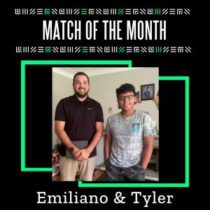 Match of the Month: Emiliano and Tyler